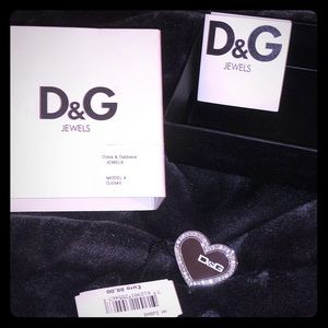 💝 NWT AUTHENTIC DOLCE GABBANA HEART RING
